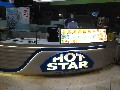 Hot Star<br/><br/>Signage and Menu<br/>Fabricate, Install